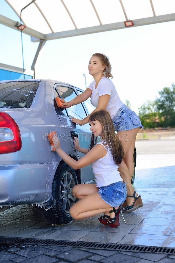 Porn blowjob girl masterbates in car wash video feet porn