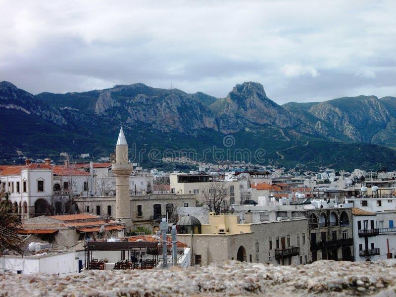 Girne/Κύπρος στοκ εικόνα