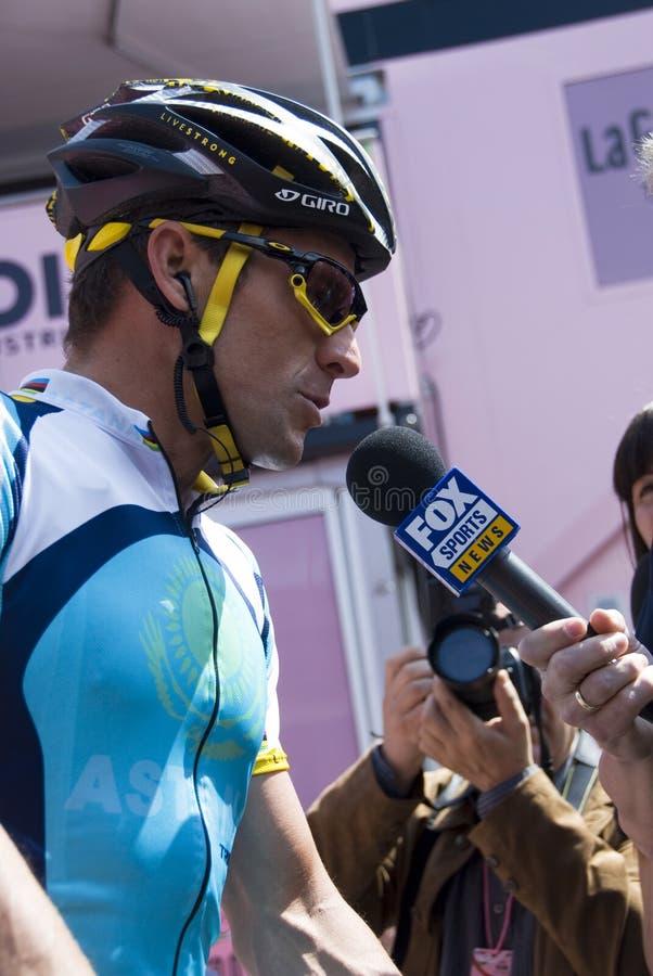Download Giro D'Italia 2009 - Lance Armstrong Editorial Stock Photo - Image: 9389483