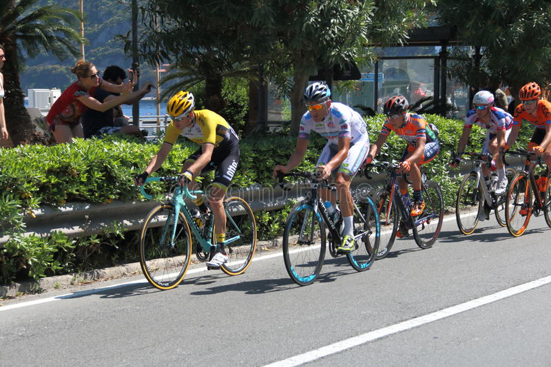 Giro d'Italia 2015 στοκ φωτογραφία με δικαίωμα ελεύθερης χρήσης
