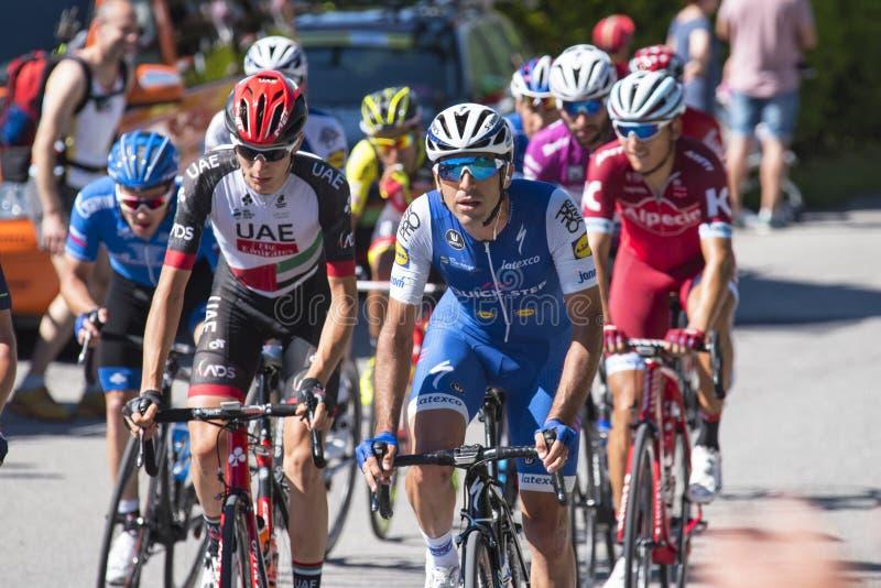 Giro d ` Italia 2017 obraz stock