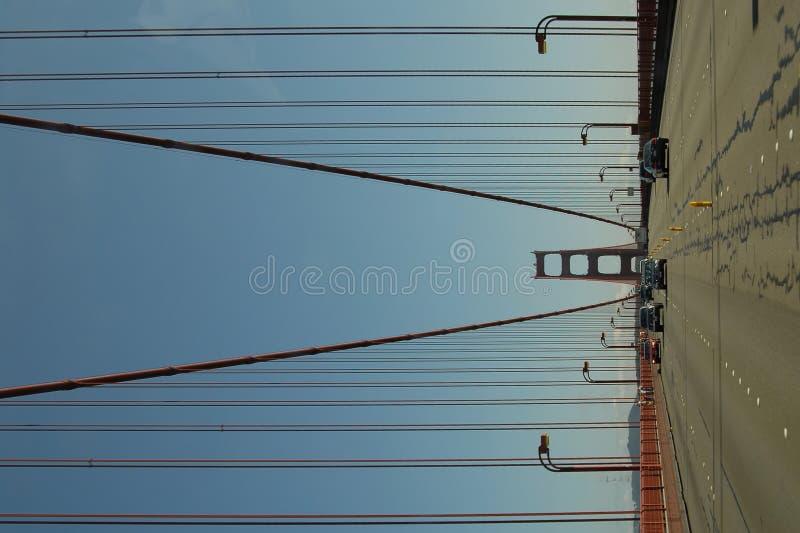 Giro del cancello dorato fotografia stock