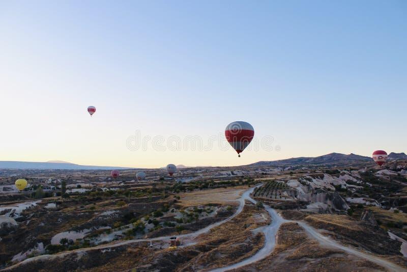 Giro del pallone di Cappadocia fotografia stock libera da diritti