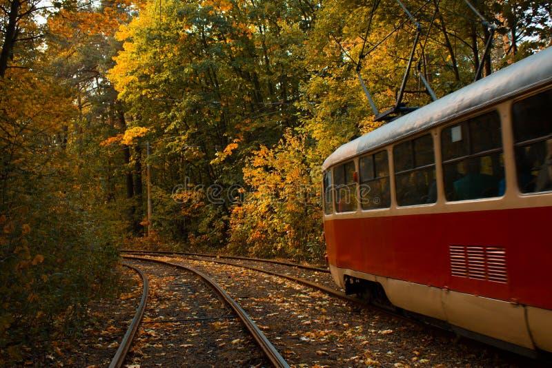 Giro del tram fotografia stock libera da diritti