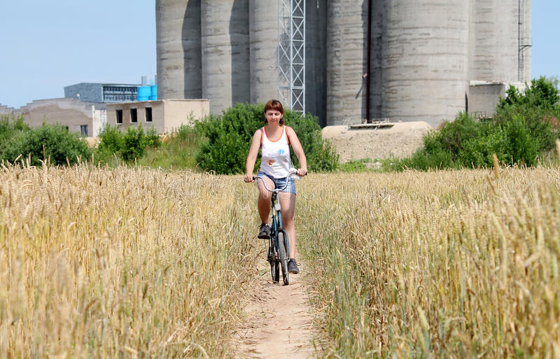 Giro della bicicletta fotografie stock libere da diritti