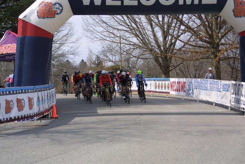 Giro della corsa 2019 del circuito della st Louis- Carondelicious III fotografia stock