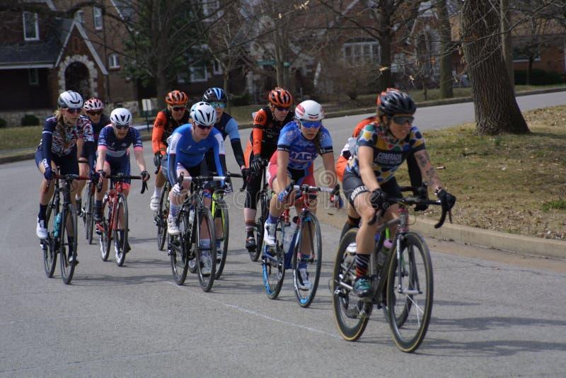 Giro della corsa 2019 del circuito della st Louis- Carondelicious XII fotografie stock libere da diritti