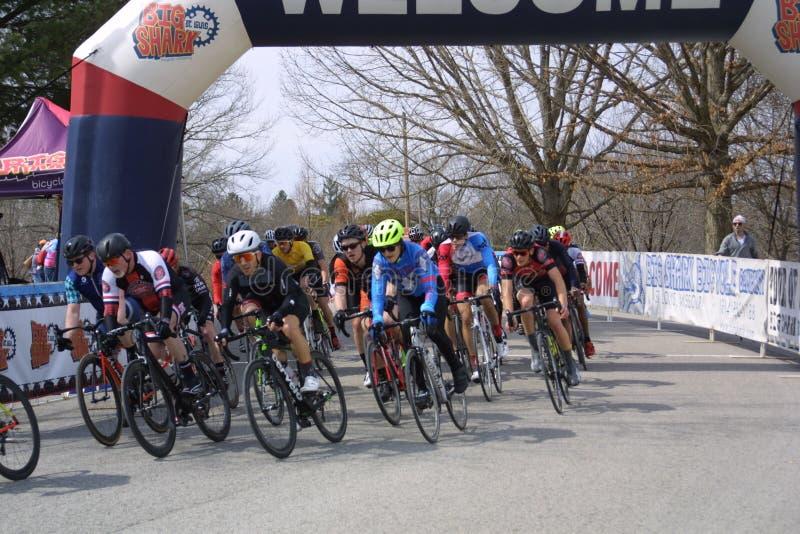 Giro della corsa 2019 del circuito della st Louis- Carondelicious XIVI fotografia stock libera da diritti