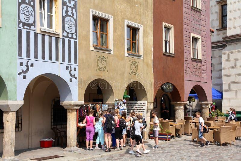 Giro della scuola di Poznan fotografia stock