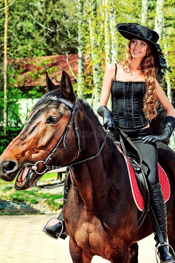 Giro di Equitation immagine stock libera da diritti