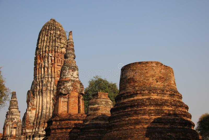 Giro e pagode antichi di forma di Bell immagini stock libere da diritti
