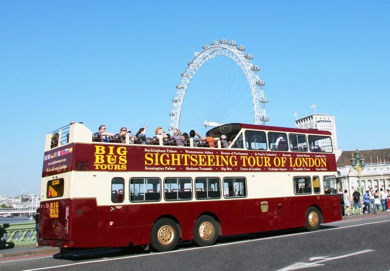 Giro facente un giro turistico di Londra fotografia stock