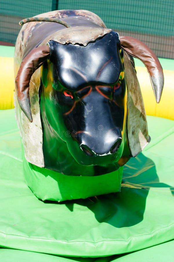 Giro meccanico del Bull fotografia stock