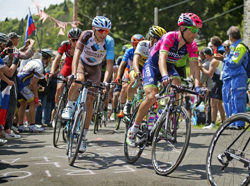 Giro 2016 stock photography