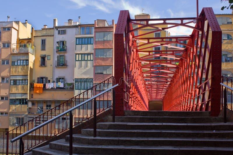 girona παλαιά Ισπανία πόλη στοκ φωτογραφία με δικαίωμα ελεύθερης χρήσης