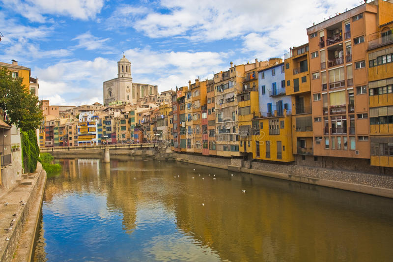 Girona fotografia de stock royalty free