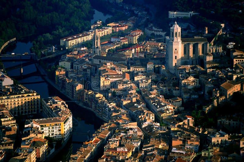 Girona stock foto