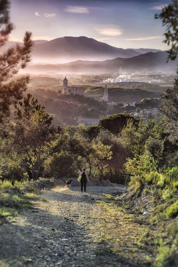 Girona stock afbeelding