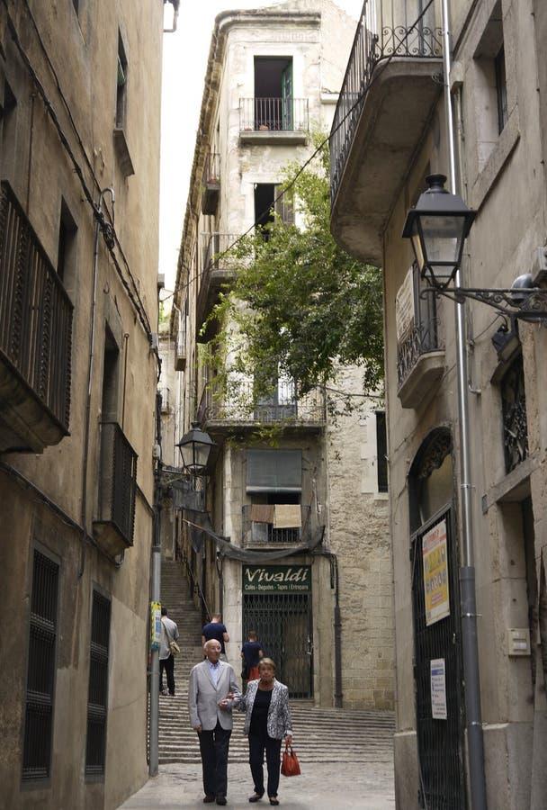 Girona royaltyfri foto
