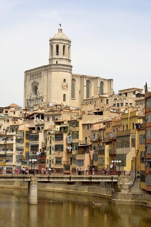 Girona, Catalogna, Spagna fotografie stock