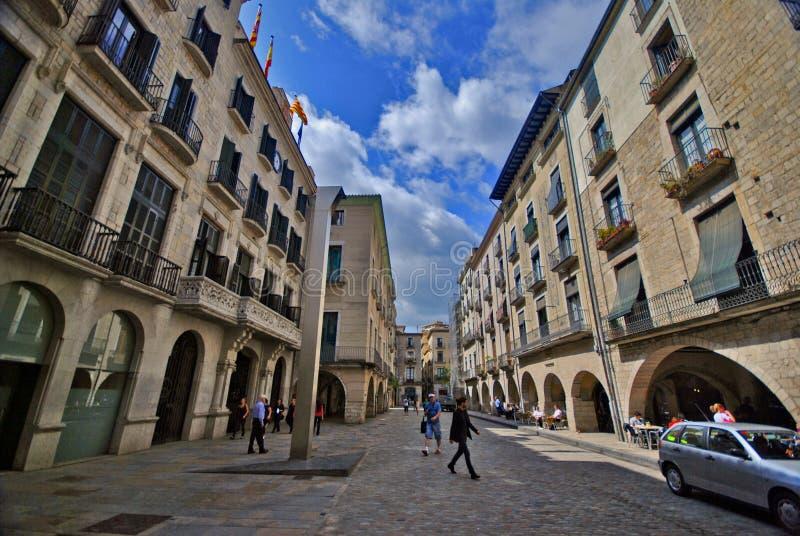 Girona, Catalonia, Spain royalty free stock photos
