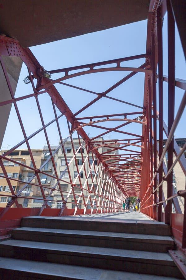 Girona Catalonia, Spanien arkivbilder