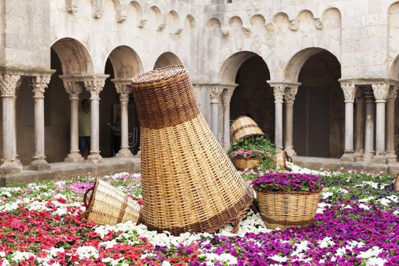 Girona Catalonia, Spanien royaltyfri bild