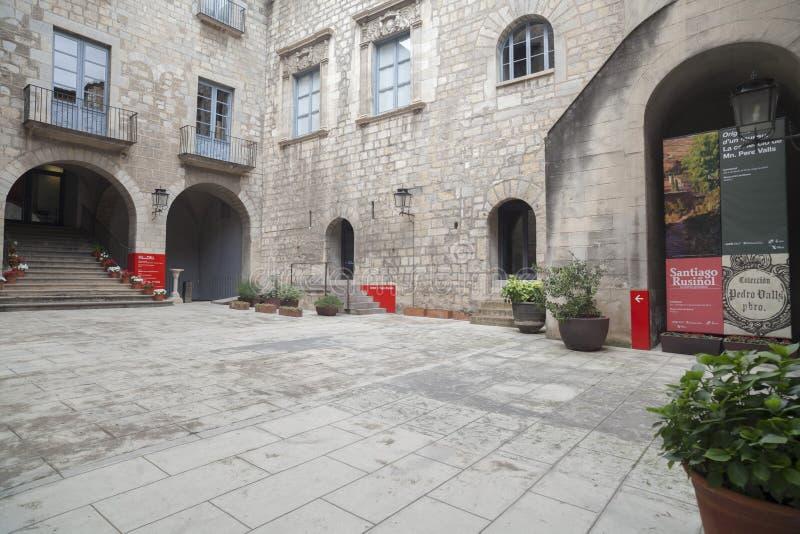 Girona Catalonia, Spanien fotografering för bildbyråer
