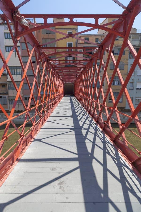 Girona Catalonia, Spanien royaltyfri foto