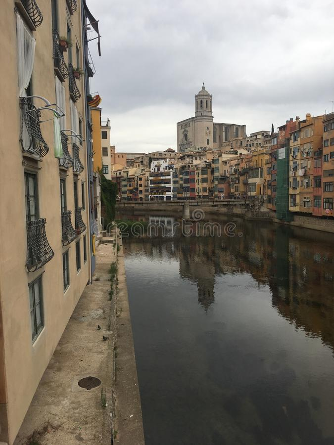 Girona City stock images