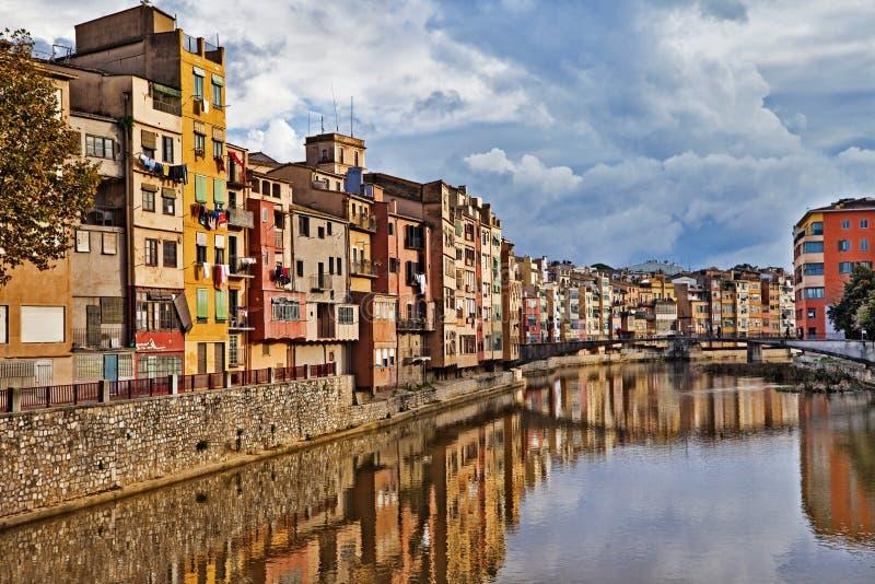 Girona, España foto de archivo libre de regalías
