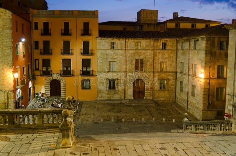 Girona Katedra zdjęcia royalty free
