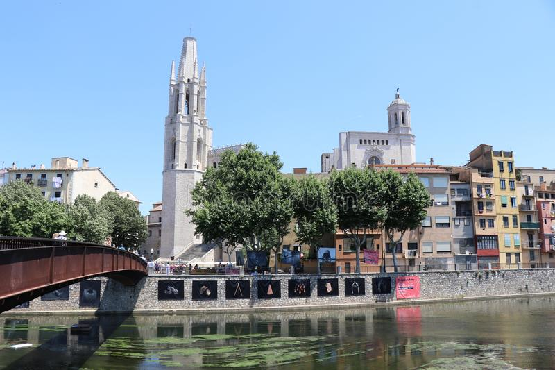 Girona Spain imagens de stock royalty free