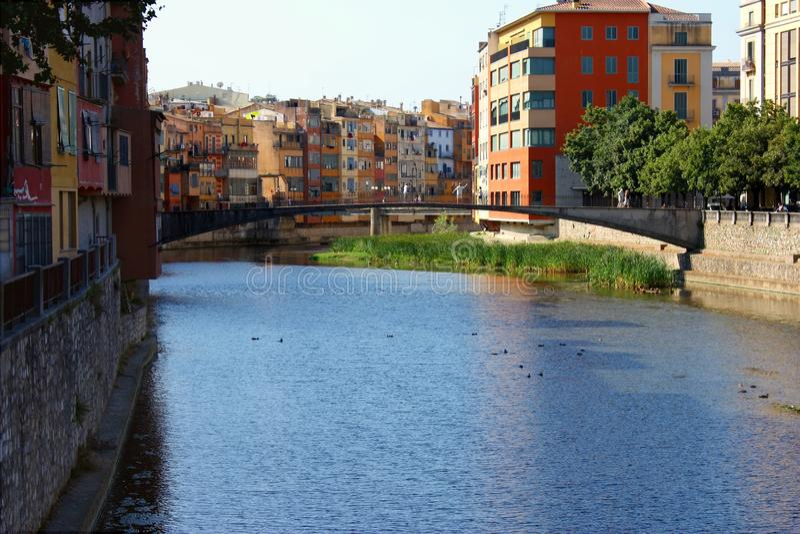 Girona, Spain royalty free stock photography