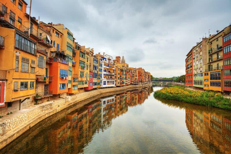 Girona. Spanien. lizenzfreie stockbilder