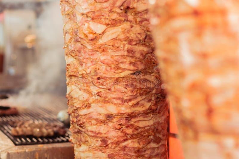 Giroscópios gregos, carne imagens de stock royalty free