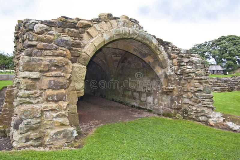 Gisborough priorskloster, North Yorkshire - UK royaltyfri fotografi