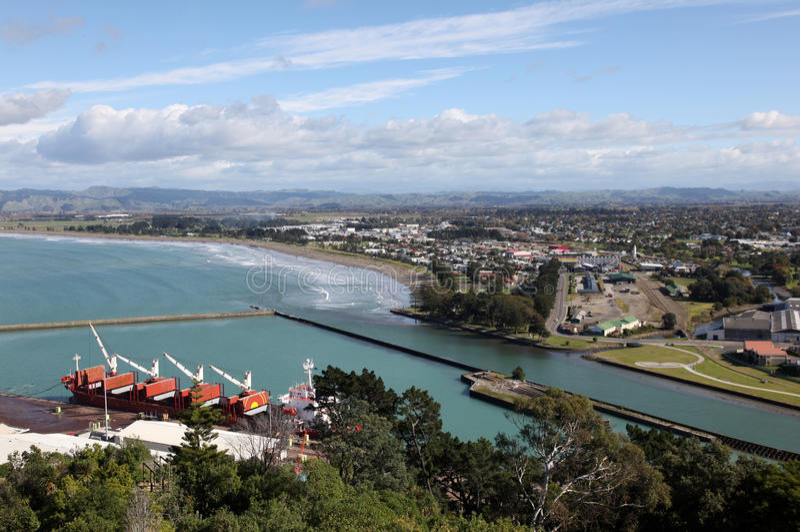 Gisbourne - Nova Zelândia imagem de stock royalty free