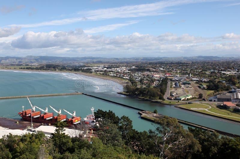 Gisbourne, Nowa Zelandia - obraz royalty free