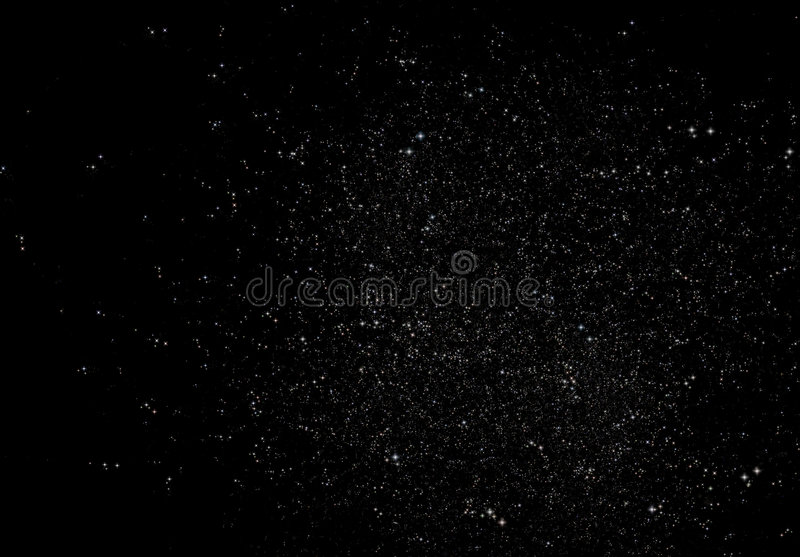 Gisement d'étoile sans fin images libres de droits
