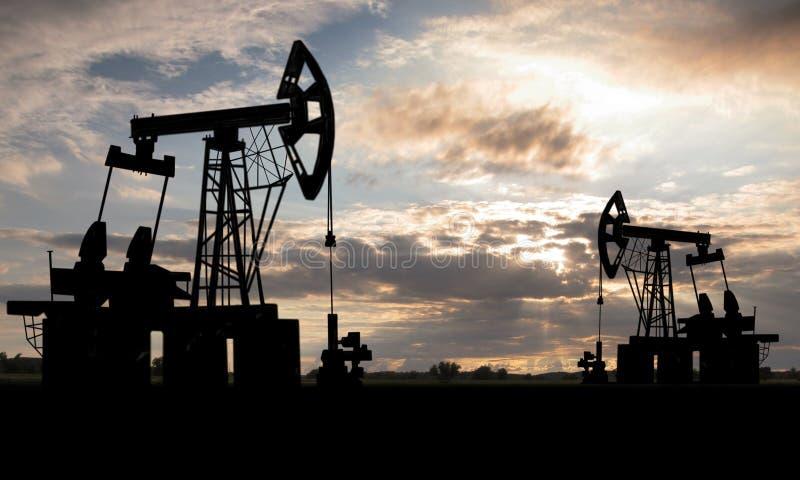 Gisement de pétrole images stock
