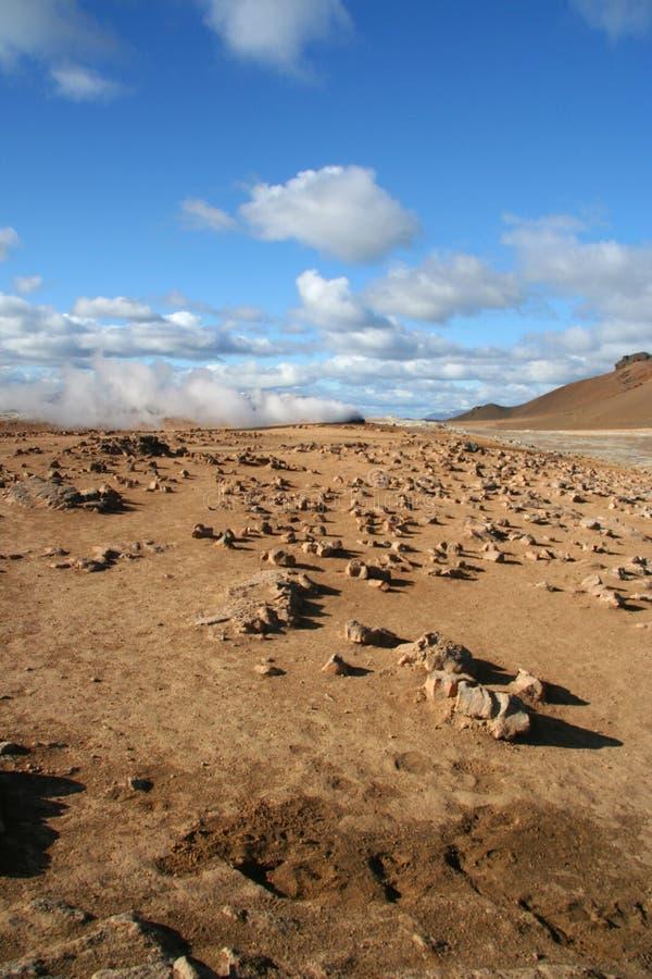 Gisement géothermique image libre de droits