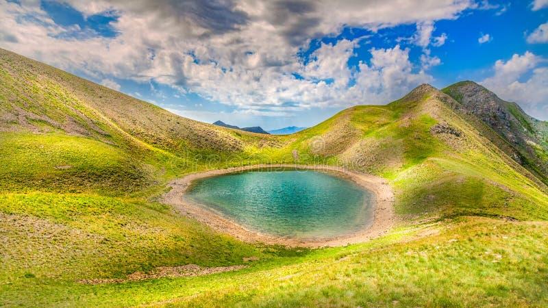 Gistova sjö royaltyfri foto