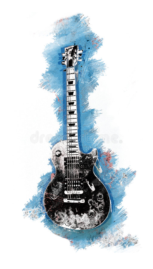 Gitar illustration de vecteur