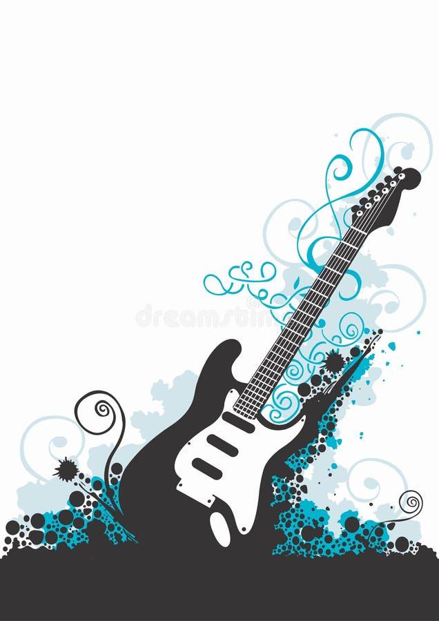 gitara ilustracji