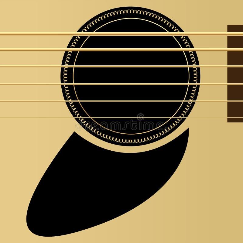 gitara akustyczna ilustracja wektor
