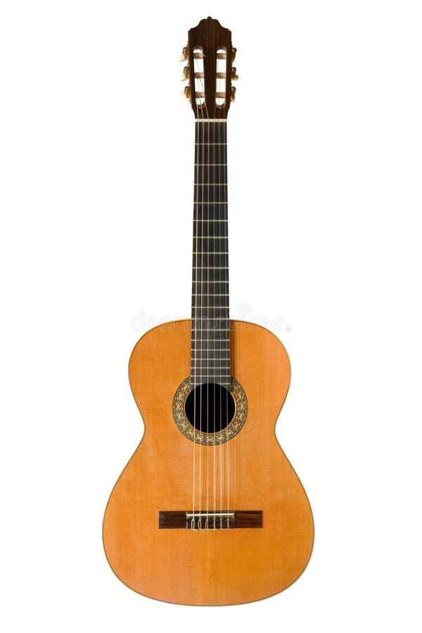 gitara akustyczna klasycznego obraz royalty free