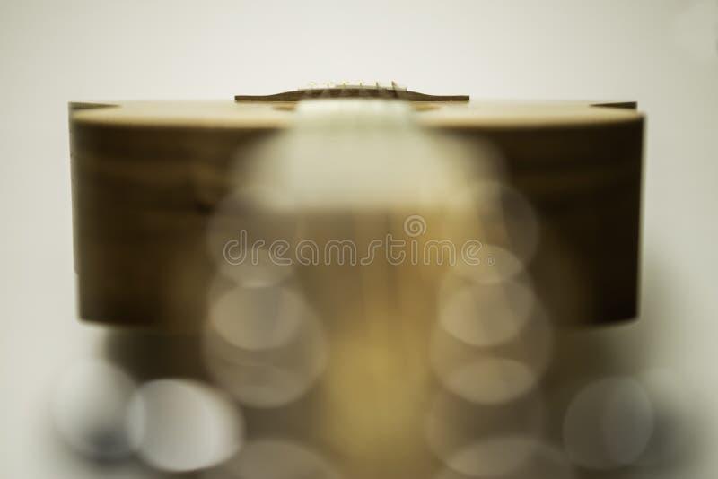 Gitara Akustyczna wierzchołek obraz stock
