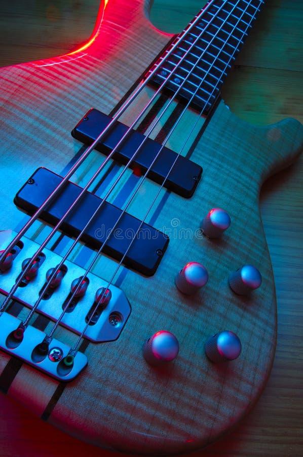 gitara basowa elektryczna obraz royalty free