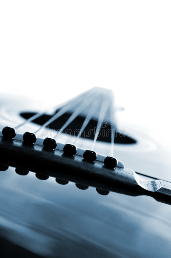 gitara, blisko fotografia stock